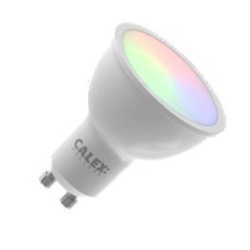 Smart Gu10 RGB Reflector Calex led lamp 5W 350lm 2200-4000K Wifi 3