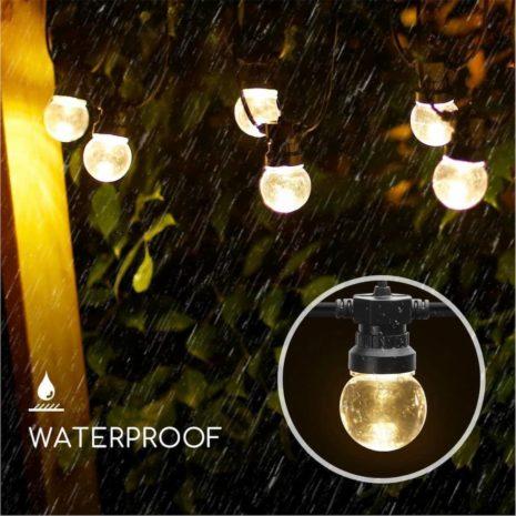 Ambiance extérieure LED (1)