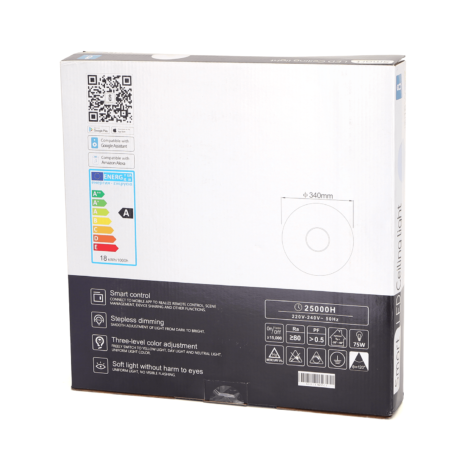 Aigostar-dimbare-plafondlamp-340mm-RGBCCT-LED-rond-opbouw-verpakking